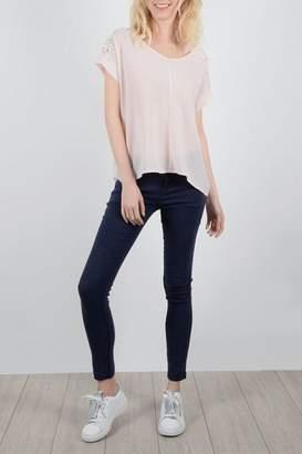 Molly Bracken Pale Pink Top