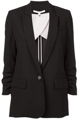 Veronica Beard boxy gathered sleeve blazer
