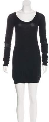 Helmut Lang Wool Mini Dress