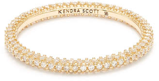 Kendra Scott Remi Band Ring in 14k Gold and White Diamonds