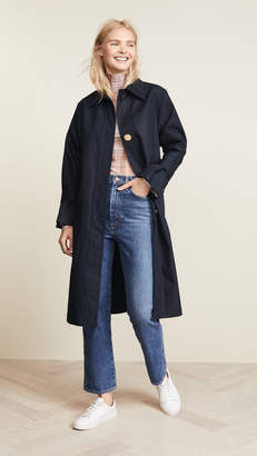 Edition10 Trench Coat with Oversize Buttons