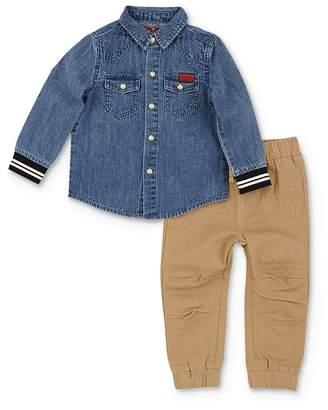 7 For All Mankind Boys' Denim Shirt & Pants Set - Baby
