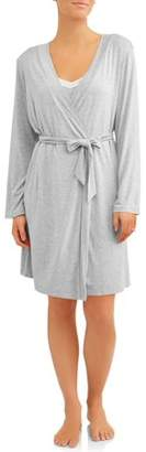 Lamaze Nurture by 2-Piece Nursing Chemise and Robe Set - Available in Plus Size