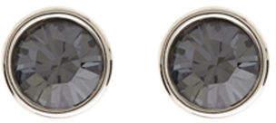 Karen Millen Logo Stud Earrings
