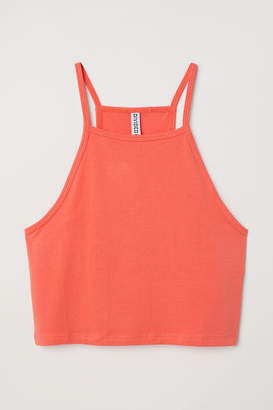H&M Short Camisole Top - Orange