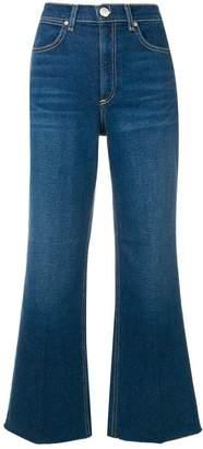 Rag & Bone cropped bootcut jeans