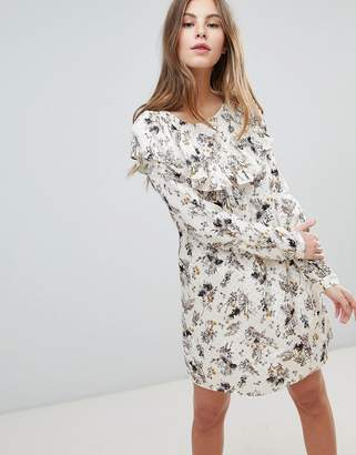 Vila Printed shift Dress
