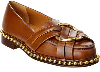 276f91d8a36 Leather Loafers With Buckle - ShopStyle