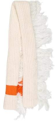J.W.Anderson Rib Knit Oversize Scarf