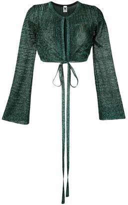 M Missoni sparkly knit bolero cardigan