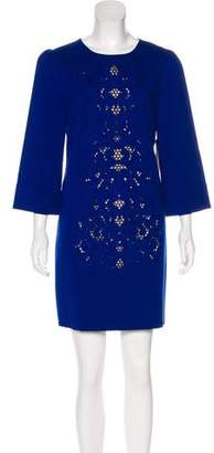Cynthia Steffe Embroidered Mini Dress Mini w/ Tags