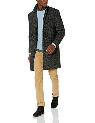 J.Crew Mercantile Men's Wool Herringbone Topcoat