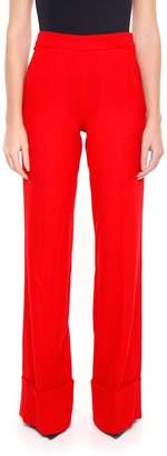 Edward Achour Paris Wool Crepe Trousers