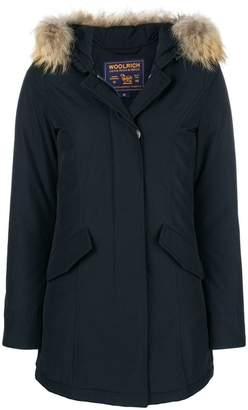 Woolrich fur raincoat