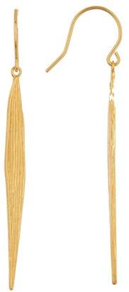 Gorjana Palm Leaf Drop Earrings