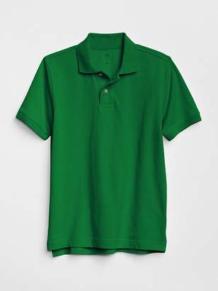 Gap Uniform Short Sleeve Polo Shirt