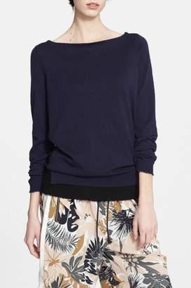Rag & Bone Hallie Cotton Cashmere Sweater