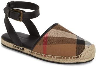 Burberry Perth Ankle Strap Sandal