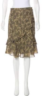 MICHAEL Michael Kors Knee-Length Silk Skirt