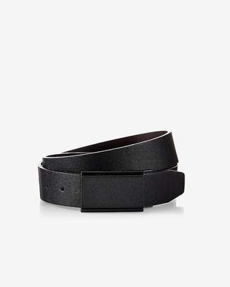 Express Reversible Textured Matte Plaque Belt