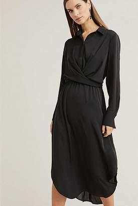 Witchery Wrap Shirt Dress