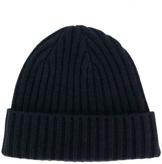 N.Peal chunky ribbed hat
