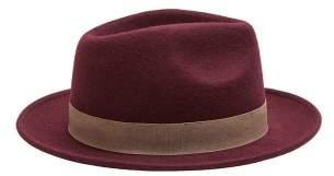 Mango Man MANGO MAN Wool fedora hat