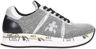 Premiata Conny Silver Sneakers
