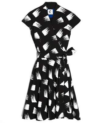 Lobo Mau Japanese Wrap Dress
