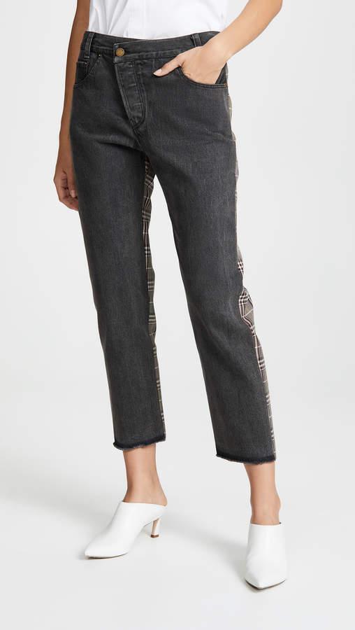 Half & Half Jeans