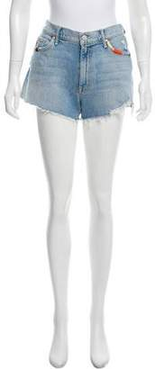 Mother Mid-Rise Cut-Off Shorts w/ Tags