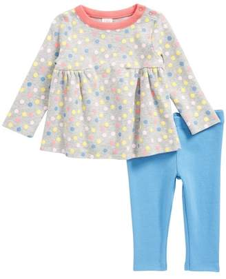 Nordstrom Printed Tunic & Leggings Set (Baby Girls)