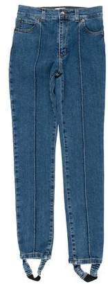 Magda Butrym Mid-Rise Skinny Jeans