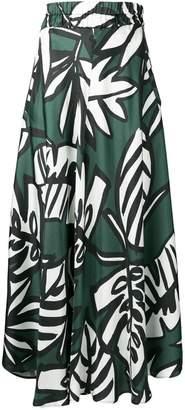 Altea plant print skirt