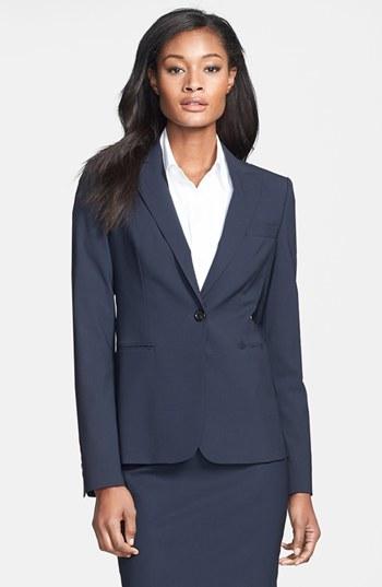 BOSS 'Juicy 6' Stretch Wool Jacket