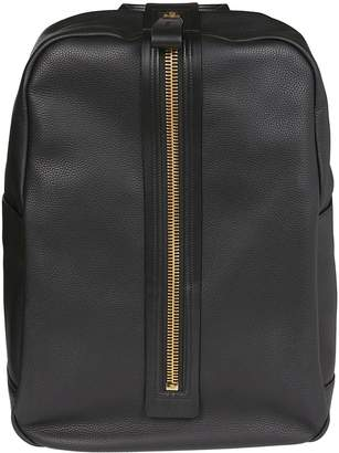 Tom Ford Front Zipped Backpack