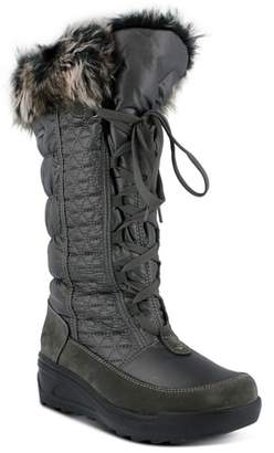 Spring Step Fotios Waterproof Faux Fur Boot