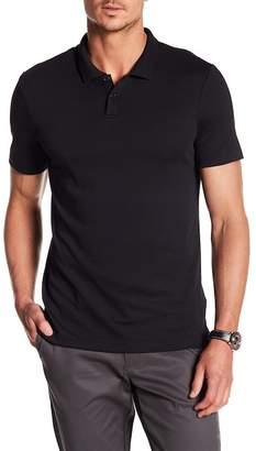 DKNY Knit Short Sleeve Polo Shirt