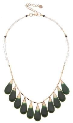Nakamol Design Teardrop Fringe Necklace