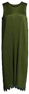 Pleats Please Issey Miyake Women's Ripple Waves Slip Dress