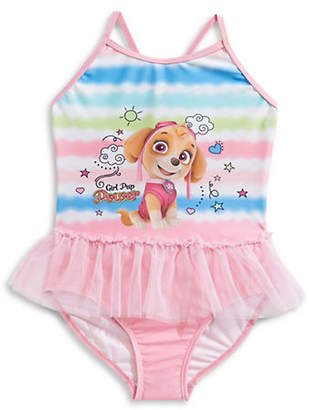 NTD One-Piece Girl Pup Power Swimsuit