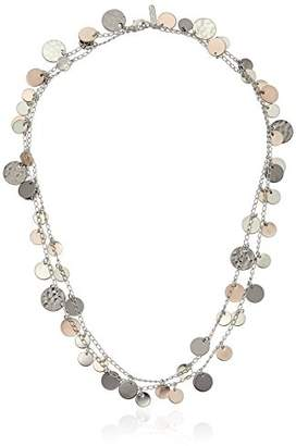 "Nine West Classics"" Tri Tone Strand Necklace"