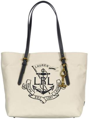 Ralph Lauren In Fabric Tote Bag