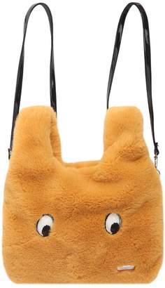 Simonetta Faux Fur Backpack