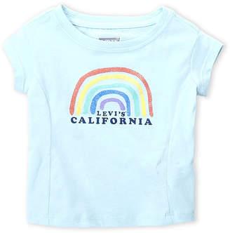 Levi's Toddler Girls) Rainbow California Tee
