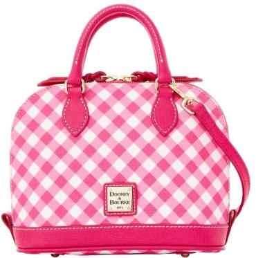 Dooney & Bourke Gingham Bitsy Bag - PINK - STYLE
