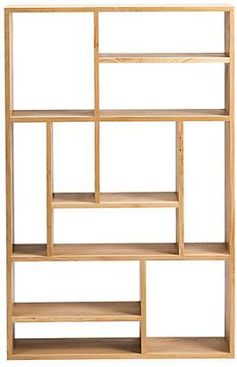 Ethnicraft Mondrian Small Bookcase - Oak