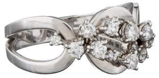 Damiani Cluster Diamond Ring