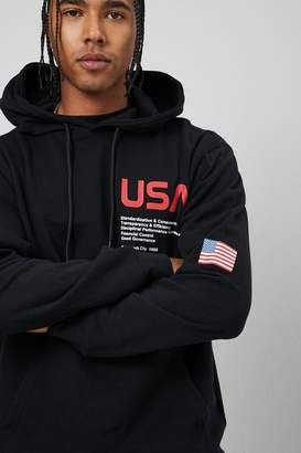 Forever 21 USA Graphic Hoodie
