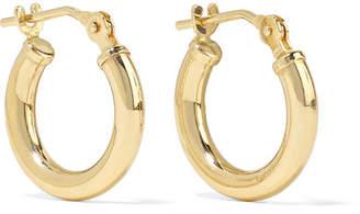 Loren Stewart - Baby Chubbie Huggies Gold Hoop Earrings - one size